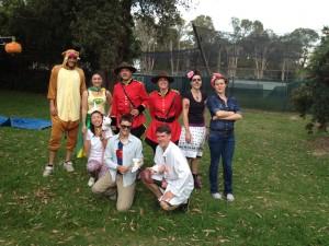Lizard Lab Halloween 2014!