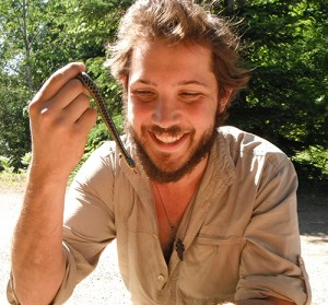 James Baxter-Gilbert is the lab brew-master, general trouble-shooter, answers public enquiries and assists in the lab and field. We hope he will soon be doing a PhD on water dragons. 2014-